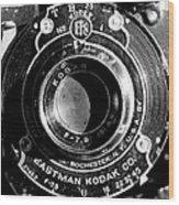 Kodak Brownie 2 Wood Print