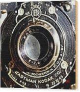 Kodak Brownie Wood Print