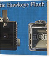 Kodak Brownie Hawkeye Camera Wood Print