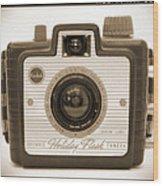 Kodak Brownie Holiday Flash Wood Print