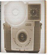 Kodak Brownie Starmite Camera Wood Print