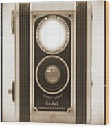 Kodak Duaflex Camera Wood Print