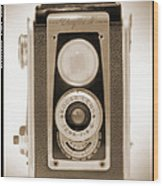 Kodak Duaflex Iv Camera Wood Print