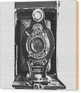Kodak No. 2 Folding Autographic Brownie Camera Wood Print
