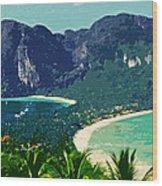 Koh Phi Phi ... Wood Print