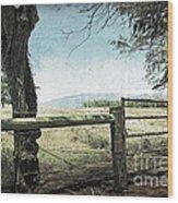 Kohala Ranch Wood Print