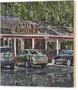 Kojak's House Of Ribs Wood Print