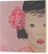 Kokoa Little Angel For Love Of The Heart Wood Print