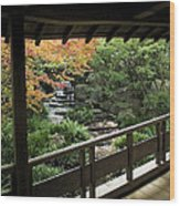 Kokoen Garden - Himeji City Japan Wood Print by Daniel Hagerman