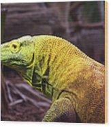 Komodo Dragon Wood Print