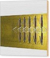 Kompozicija Multiplication  Wood Print