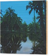 Kona Village Hi Wood Print