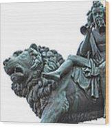 Konzerthaus Berlin - Lion Sculpture  Wood Print
