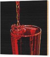 Kool-aid Crown Wood Print
