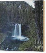 Koosah Falls No. 1 Wood Print