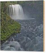Koosah Falls Wood Print