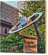 Koperlink In Philly Wood Print
