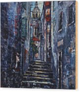 Korcula - Old Town - Croatia Wood Print