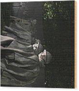 Korean War Veterans Memorial - Washington Dc - 01131 Wood Print by DC Photographer