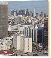 Koreatown Area Of Los Angeles California Wood Print