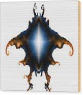 Krab Wood Print