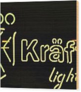 Kraftig Light 1 Wood Print