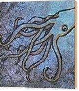 Kraken Wood Print