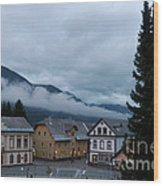 Kranjska Gora - Autumnal Evening Wood Print