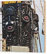 Kri Dewaruci Ops Sail 2012 Wood Print