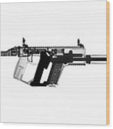 Kriss Vector X-ray Photograph Wood Print