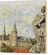 Kronborg Castle Wood Print