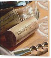 Krupp Brothers Uncorked Wood Print