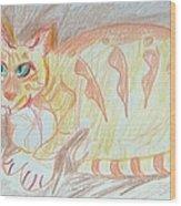 Krystallos Wood Print by Anita Dale Livaditis
