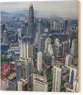 Kuala Lumpur City Wood Print
