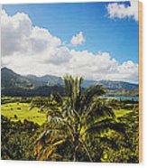 Kuhio Hwy Outlook Wood Print