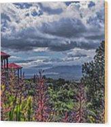 Kula Lodge 44 Wood Print