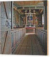 Kulturen Bosebo Kyka Lund Se 7 Wood Print