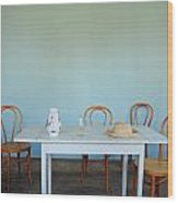 Kulturen Summerhuset Lund Se 2 Wood Print