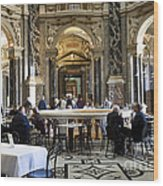 At The Kunsthistorische Museum Cafe II Wood Print