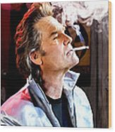 Kurt Russell @ Death Proof Wood Print