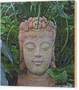 Kwan Yin Goddess Of Mercy Wood Print
