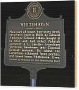 Ky-1754 Whitehaven Wood Print