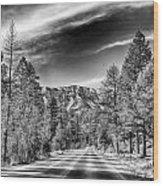 Kyle Canyon Road Wood Print