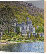 Kylemore Abbey Wood Print
