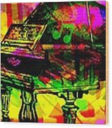 Mood Changing Medicine Power Of Music Wood Print