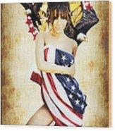 La Americana Wood Print by D H Carter