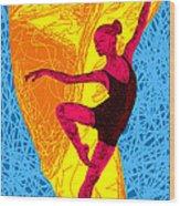 La Ballerina Du Juilliard Wood Print by Kenal Louis