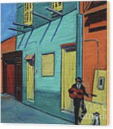 La Boca Morning II Wood Print