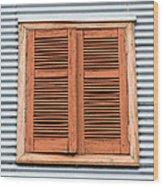La Boca Shutter Wood Print