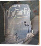 La Butte Wood Print